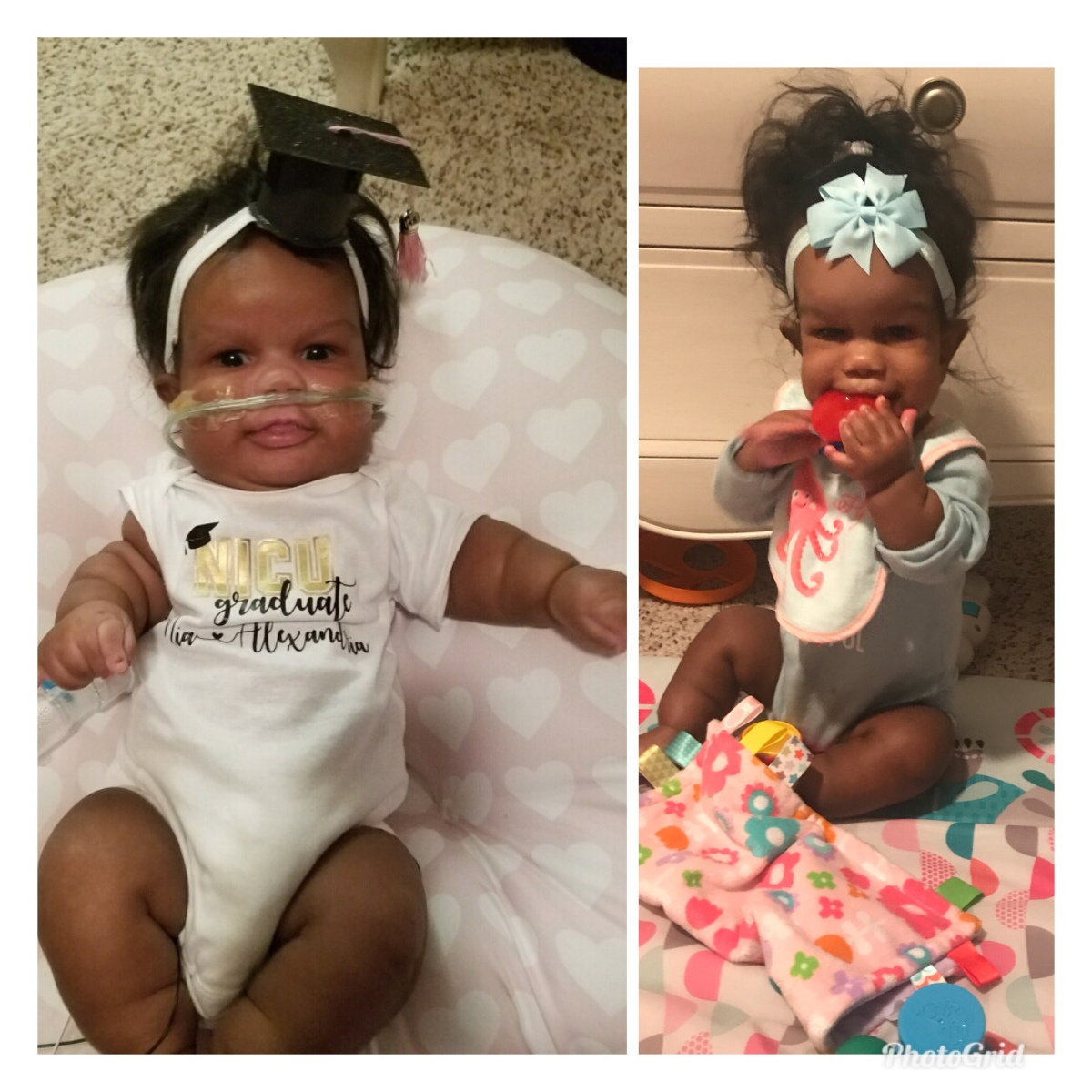 One Year NICU Graduation Anniversary Reflection- Nia's Homecoming Day 01.24.2018